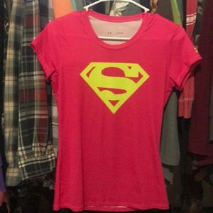 Under Armor super girl shirt!
